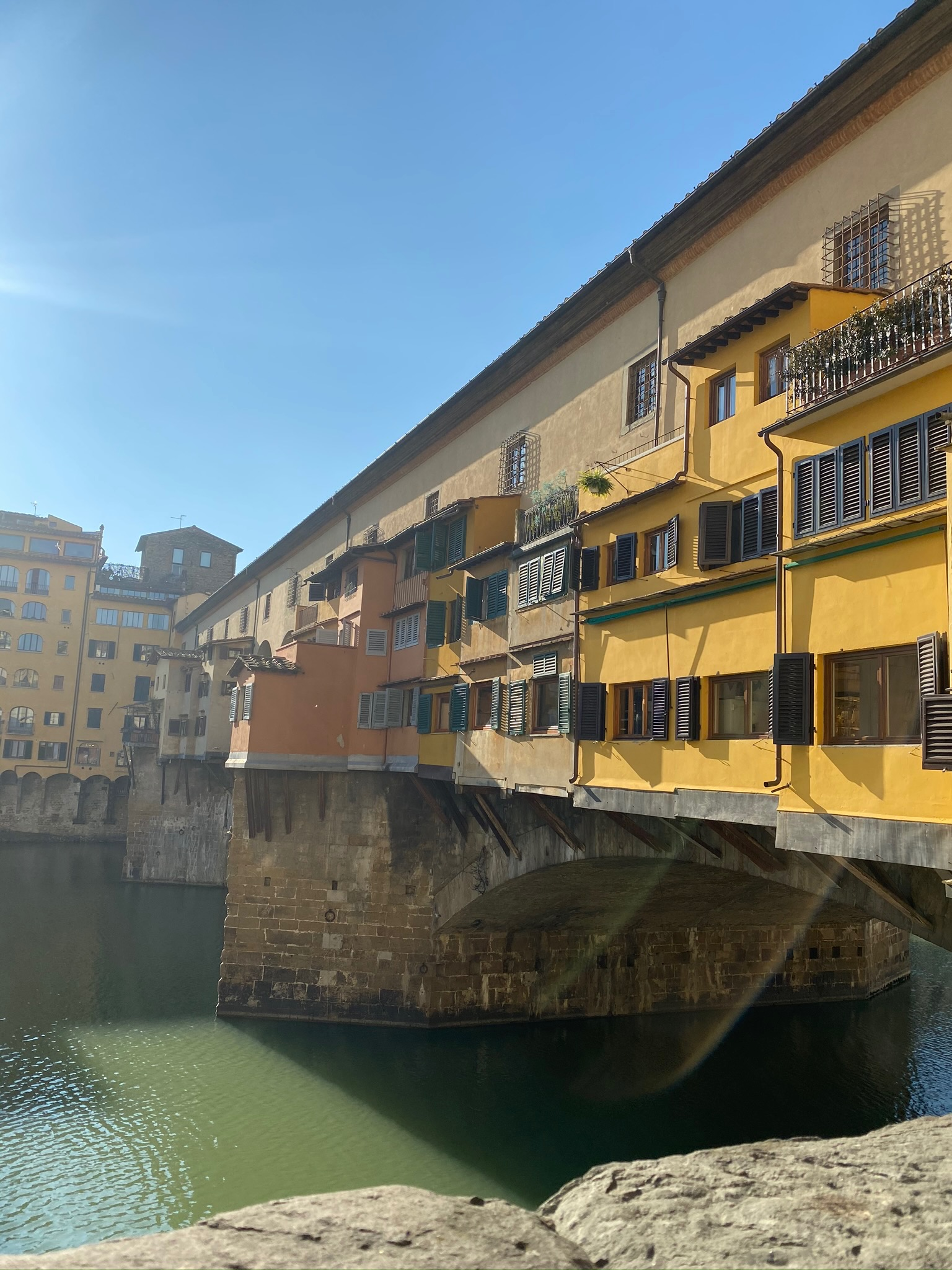 CAPAStudyAbroad_Spring2020_Florence_Sara Shriber_Bridge on Arno River
