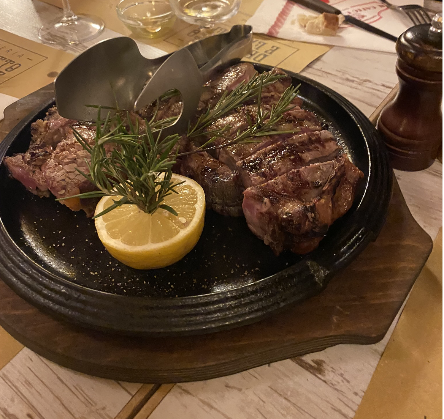 CAPAStudyAbroad_Spring2020_Florence_Sara Shriber_Florentine Steak