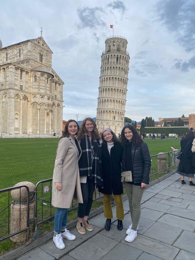 CAPAStudyAbroad_Spring2020_Florence_Sara Shriber_Leaning Tower of Pisa