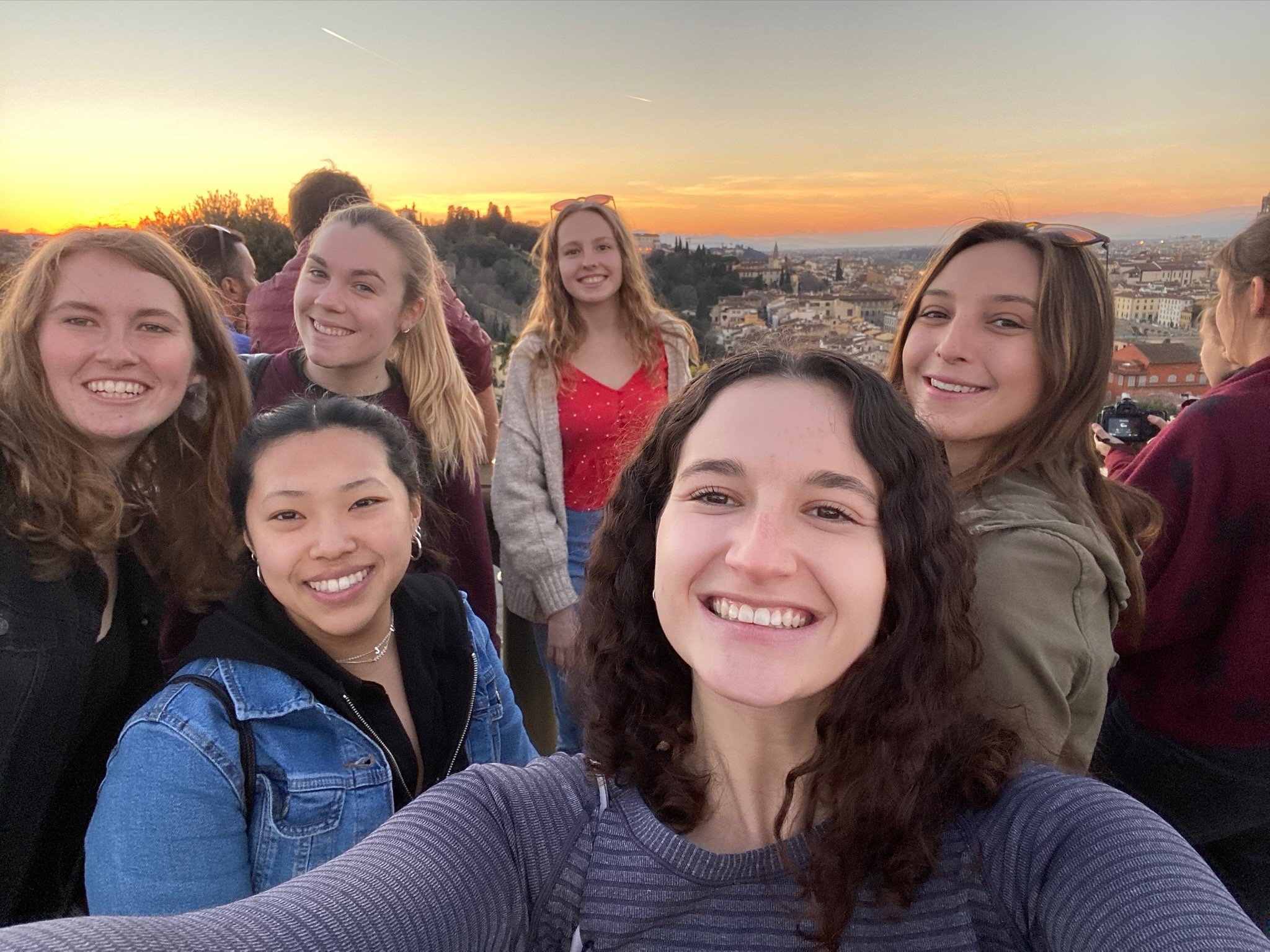 CAPAStudyAbroad_Spring2020_Florence_Sara Shriber_Picture of Friends #1