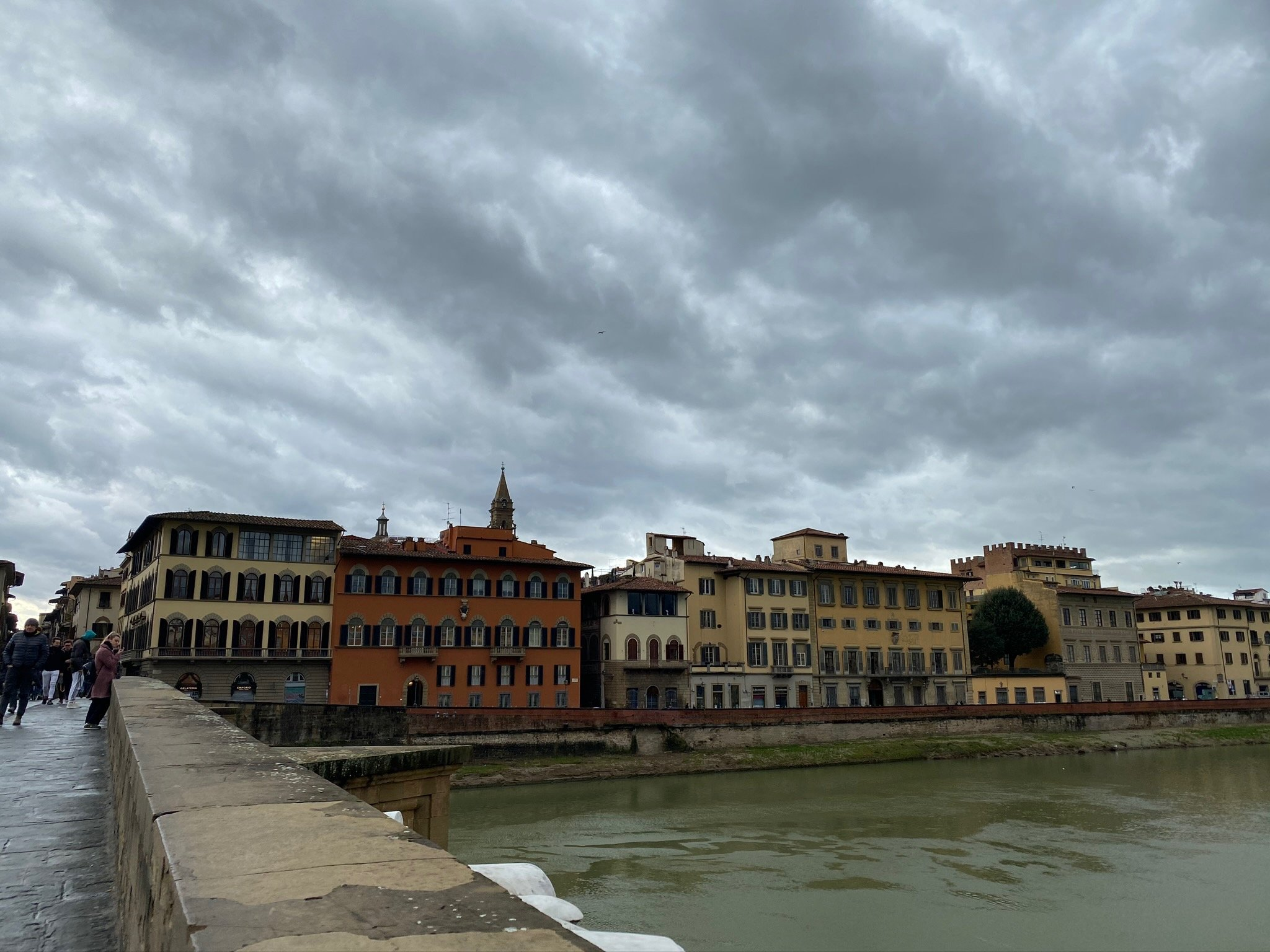 CAPAStudyAbroad_Spring2020_Florence_Sara Shriber_View from Bridge