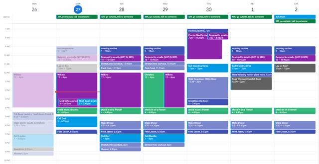 CAPAStudyAbroad_London_Spring 2020_Emma Baldwin_calendar