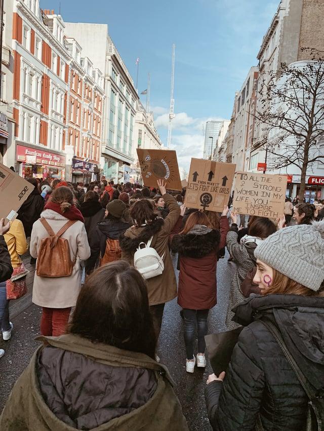 CAPAStudyAbroad_London_Spring 2020_Emma Baldwin_protest