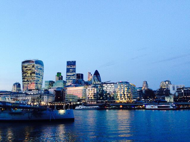 London CityScape By Rikki Li