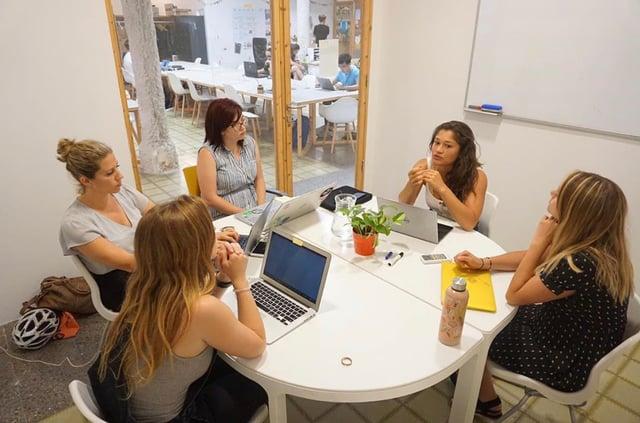 Amber's internship with Women Ambition