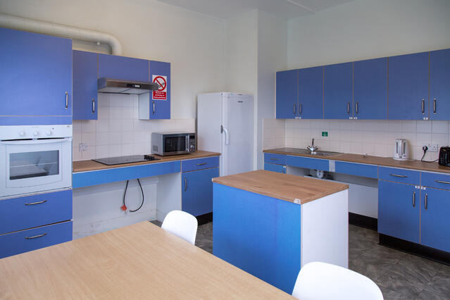 Kitchen in Student Apartments at Queen Mary