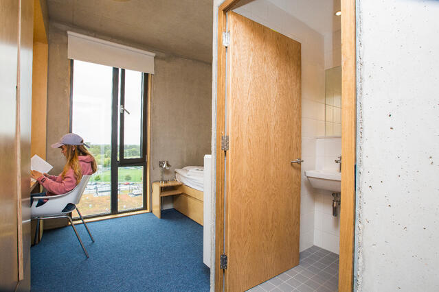 Bedroom with Ensuite at Maynooth University Residence Hall