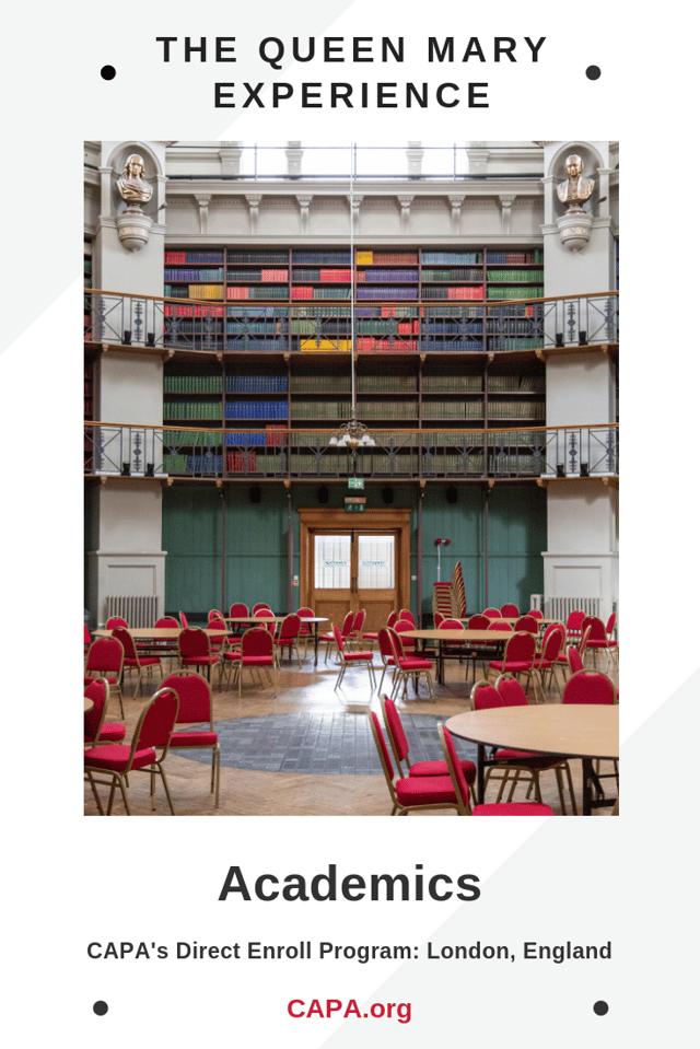 Pinterest Graphic - Queen Mary - Academics