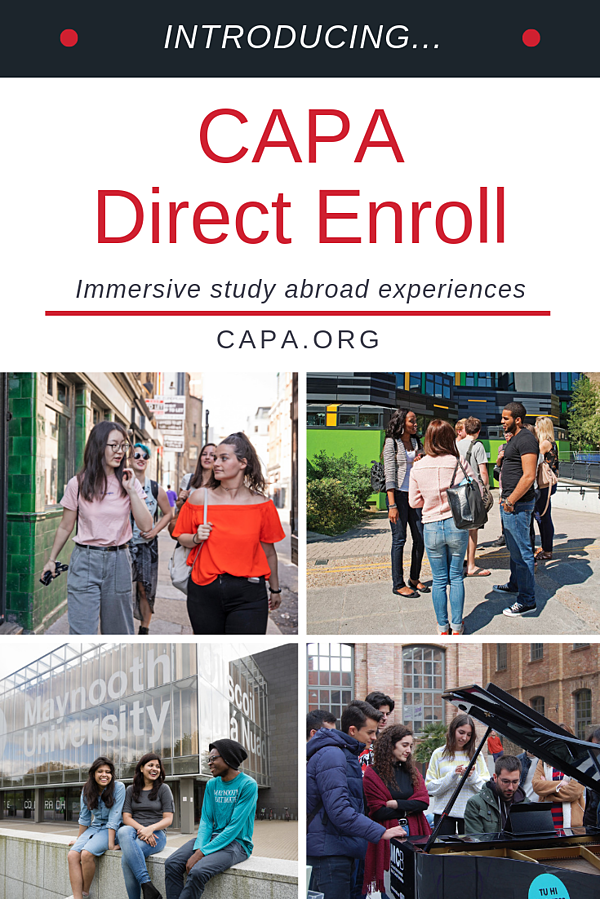 Introducing CAPA Direct Enroll - Pinterest Graphic