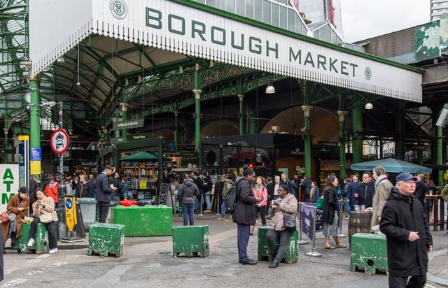 Entrance to The Borough Market
