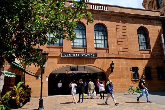 Central Station in Sydney.