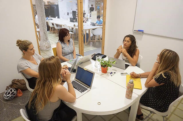CAPAStudyAbroad_Summer2019_Barcelona_EmmaPyron_Ambers internship with Women Ambition