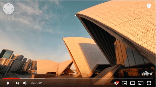 Sydney Opera House 360 View