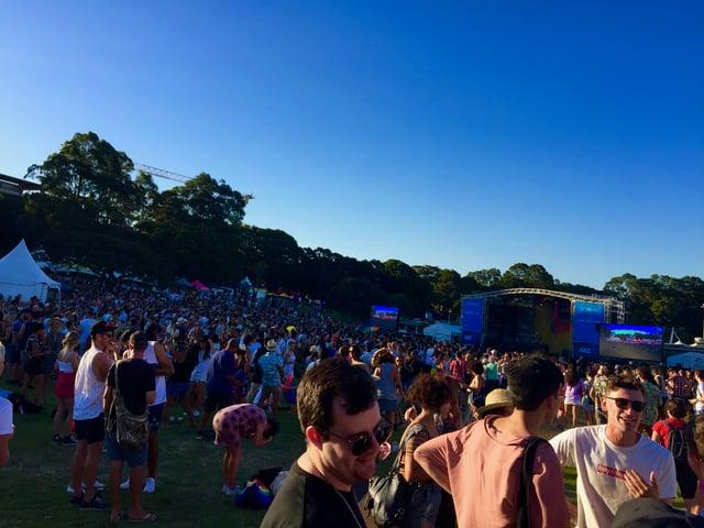 Crowd at Fair Day