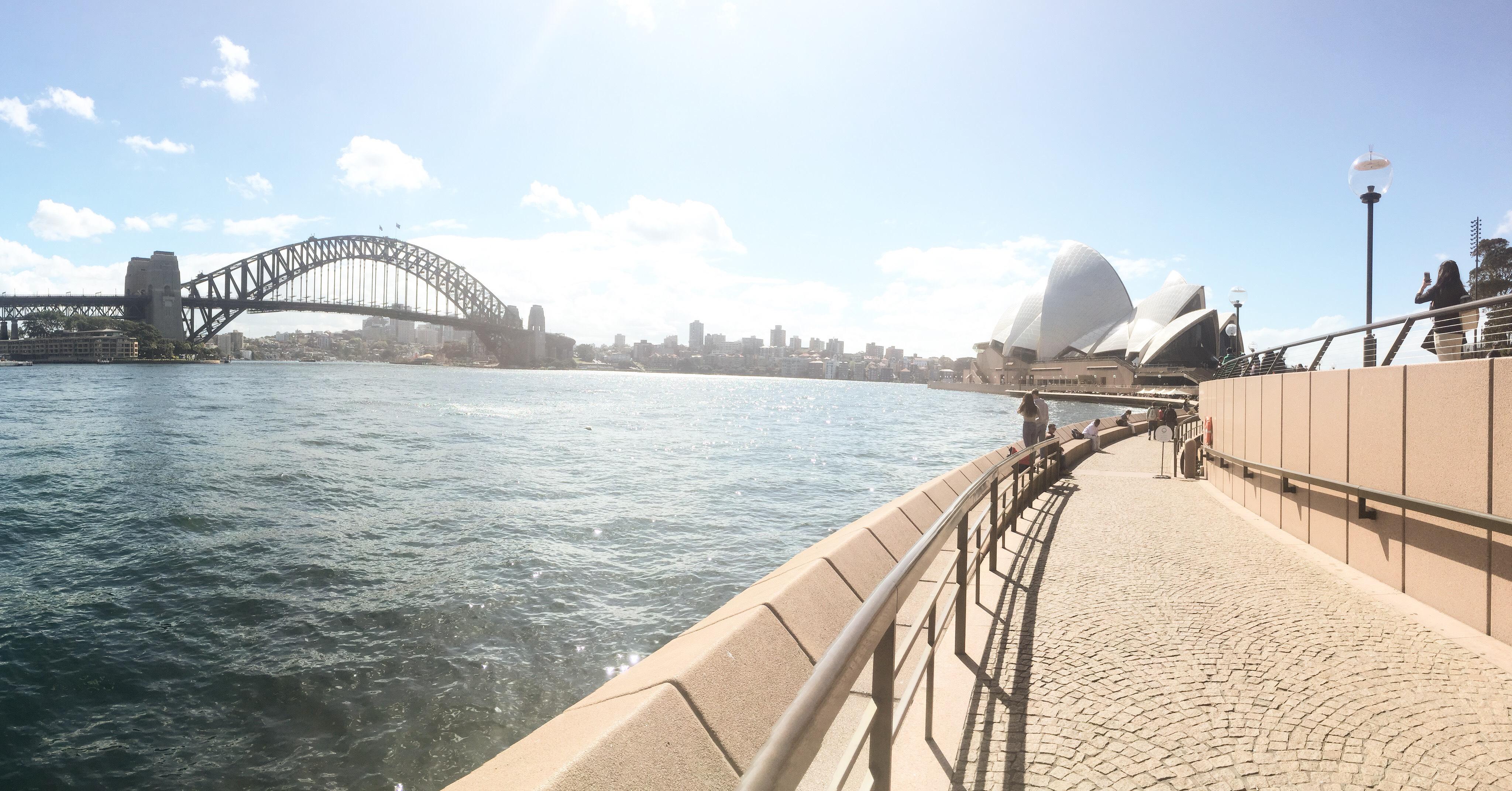 CAPAStudyAbroad_Sydney_Fall2017_From Hanna Okhrimchuk - Sydney Opera House and Sydney Harbour Bridge.jpg