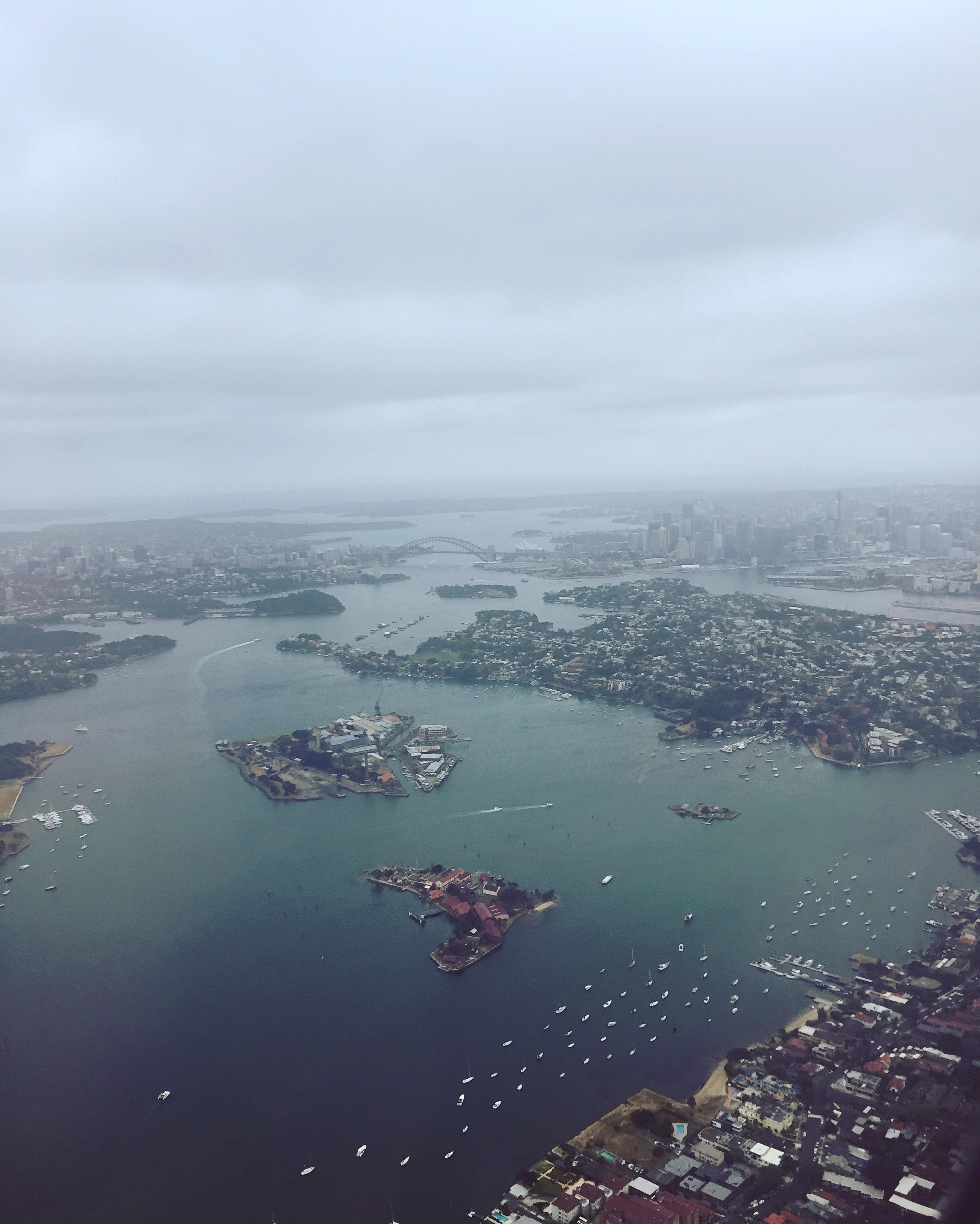 CAPAStudyAbroad_Sydney_Fall2017_From Hanna Okhrimchuk - Sydney from the Plane.jpg