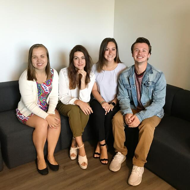 CAPAStudyAbroad_Sydney_Fall2017_From Hanna Okhrimchuk - With Roommates After First Day of Internship.jpeg
