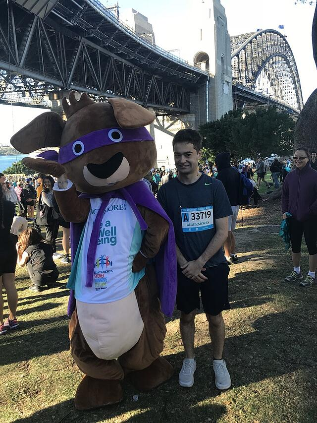 After Running a 10k Marathon at the Blackmores Sydney Running Festival