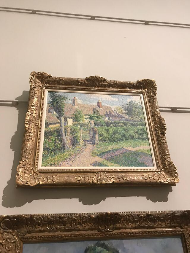 Artwork by Camille Pissaro at the Art Gallery of New South Wales