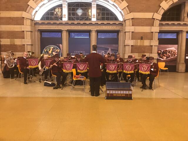 Full Orchestra at Central Station