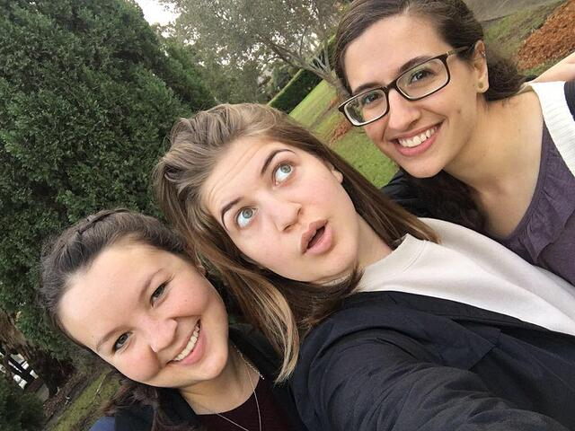 At a Random Park with Friends
