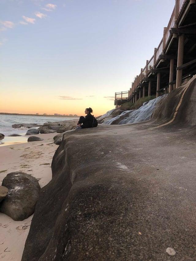 Enjoying the View on the Sunshine Coast