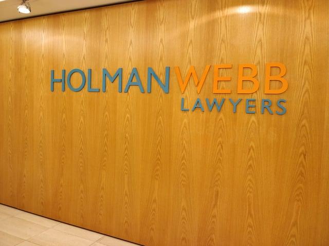 Holman Webb Lawyers Logo