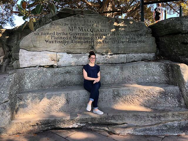 Mrs. Macquarie's Chair