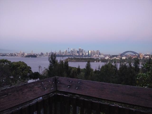 Overlooking Sydney from Taronga Zoo