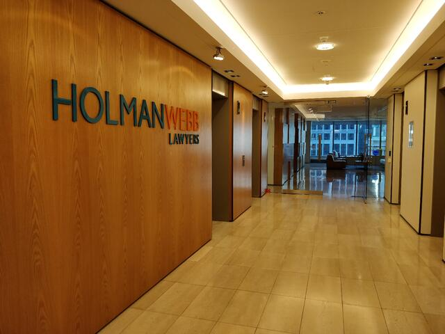 CAPAStudyAbroad_Sydney_Summer2018_From Marianne Zarzar - The Lobby of Holman Webb Lawyers