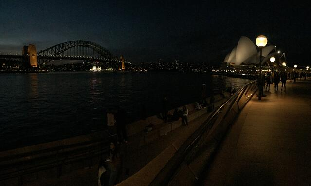 A View of Sydney at Night