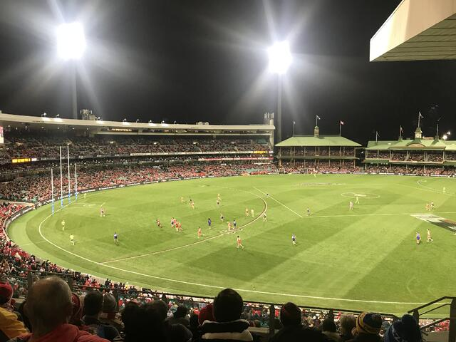 CAPAStudyAbroad_Sydney_Summer2018_From Sydney Alderman - Attending an AFL Game