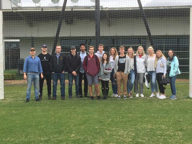 CAPAStudyAbroad_Sydney_Summer2018_From Sydney Alderman - Sports Marketing Class Group Photo