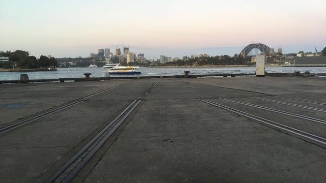 Shot of Sydney Harbor