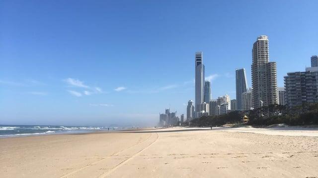 Beaches in Gold Coast