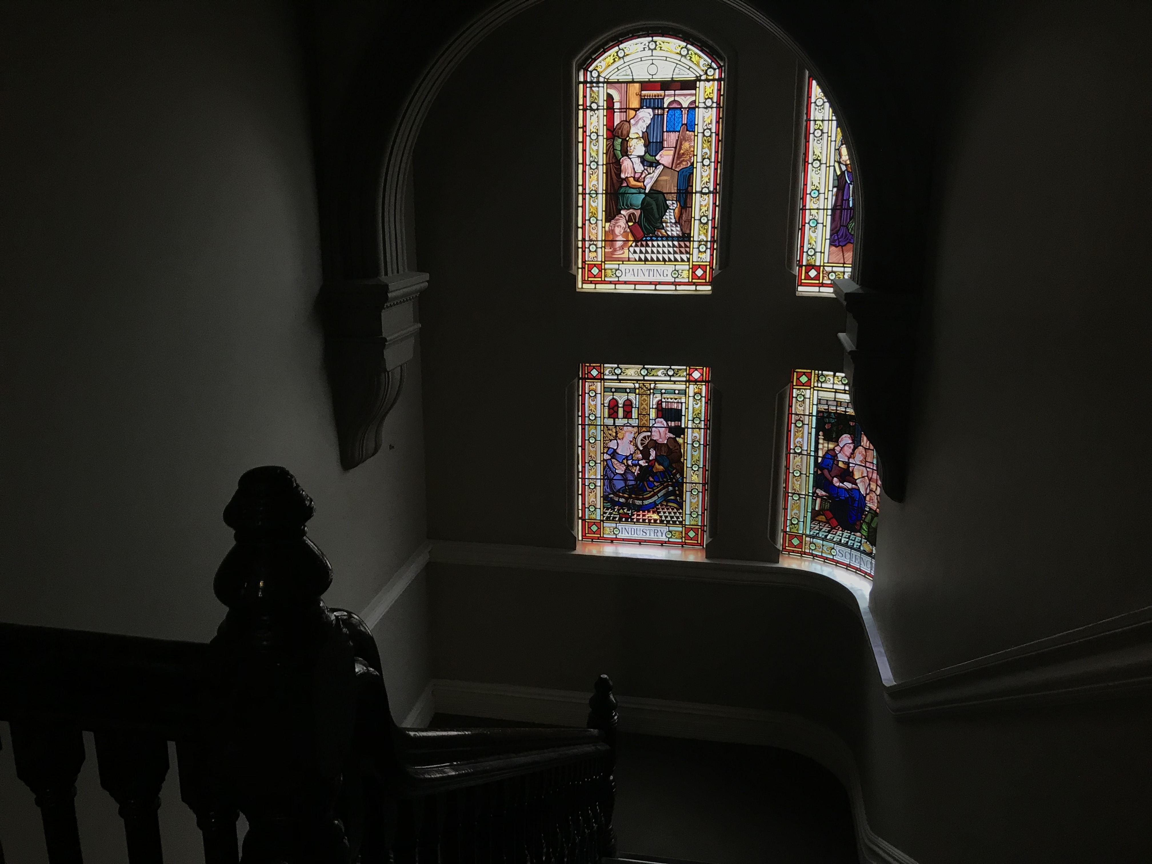 Stained Glass Windows in CAPA Sydney Center