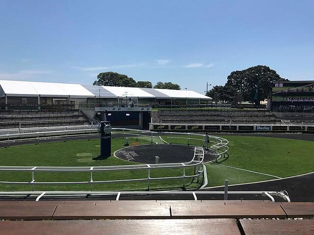 Where Bet-Takers can View the Horses at the Royal Randwick Racecourse