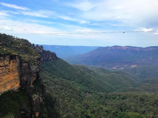 View from the Blue Mountains