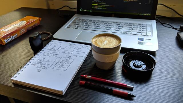 Coffee at the Startup Hub