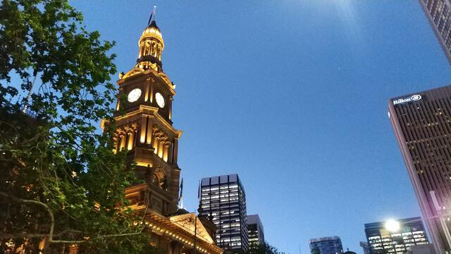 Picture of Sydney Clocktower at Night