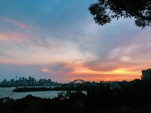 Taronga Zoo Sunset