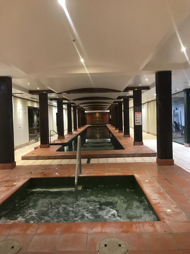 The emerald pools of Oaks Goldsbrough