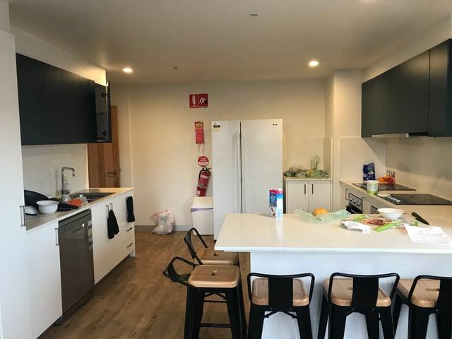 Our modern, spacious kitchen
