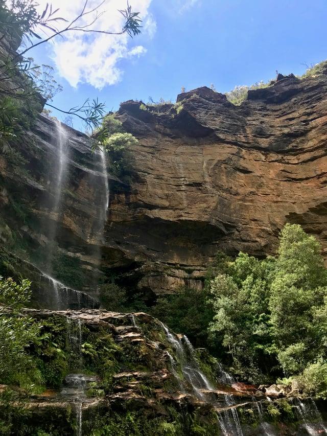 The lovely Katoomba Falls
