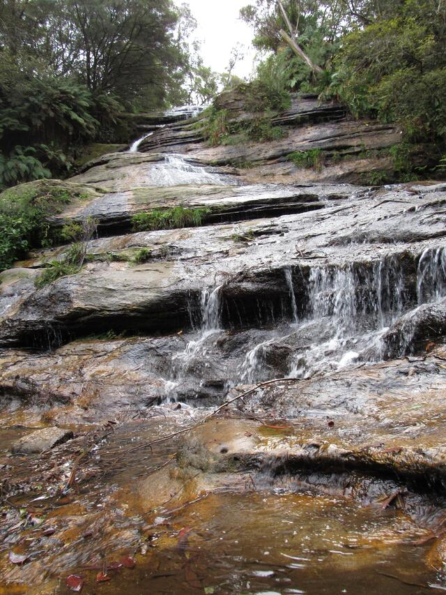 Waterfall at Blue Mountains