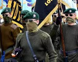 Loyalist UVF Paramilitaries