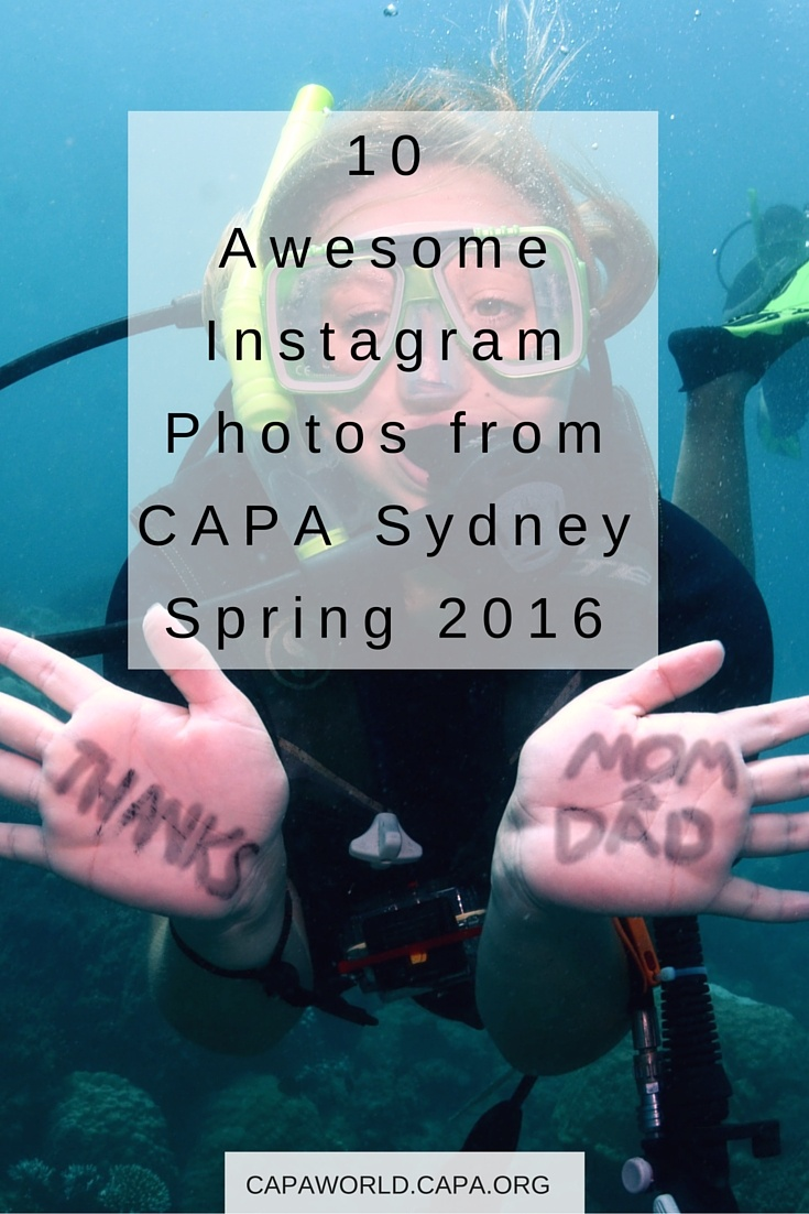 10 Awesome Instagram Photos from CAPA Sydney Spring 2016