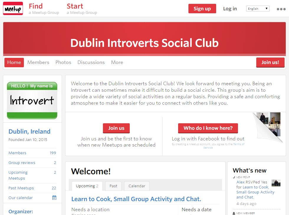 Introverts Social Club