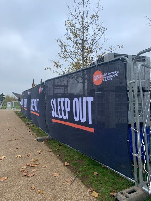 Sleep out at Queen Elizabeth Park