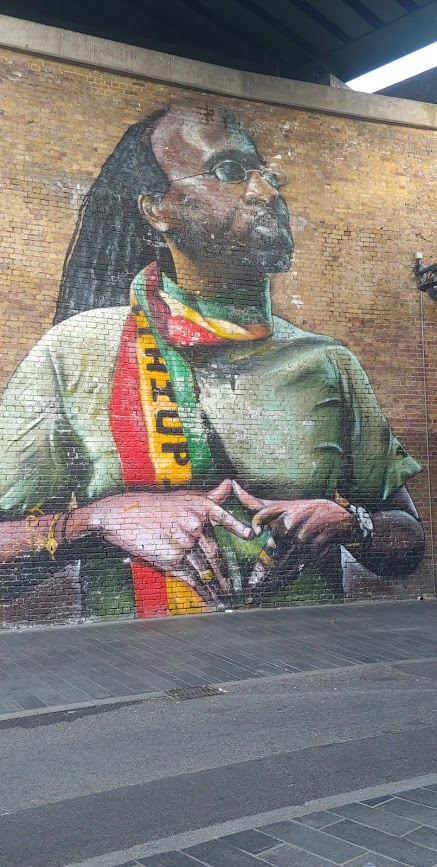 Mural in Brixton